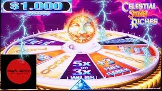 CELESTIAL SUN RICHES ~ PURE MAGIC ~ LIGHTNING LINK ~ Live Slot Play @ San Manuel