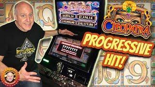 •I Hit The Progressive!! •HUGE High Limit Cleopatra Multi-Play JACKPOT! •| The Big Jackpot