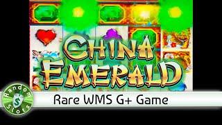 China Emerald slot machine, Rare G+ Game
