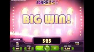 NETENT Starburst Slot REVIEW Featuring Big Wins With FREE Coins