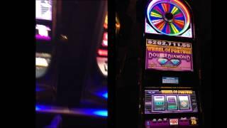 High limit 100 dollars a pull Wheel of fortune slot MGM grand HUGE WIN