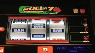 Roll 7 Progressive Slot Machine-Live Play With Dproxima & Teresa