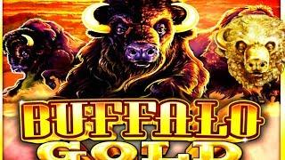 BUFFALO KEEPS GIVING ME MONEY! Live Play Bonus Wins | Slot Traveler