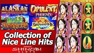 Collection of Nice Line Hits - Various Slot Hits from Aristocrat, Konami and WMS titles