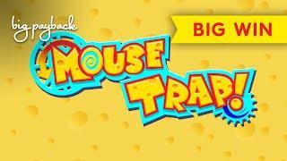 WHOA, WHAT A SURPRISE! Mouse Trap Slot - BIG WIN BONUS!