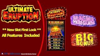 (New Slot First Look and Attempt)Aruze - Ultimate Eruption : Live Play