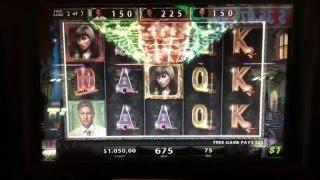 Bonus Round on Black Widow at $75/pull at Lodge Casino Colorado