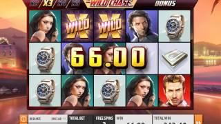 The Wild Chase slots - 378 win!