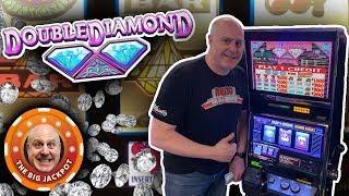 $100 A SPIN! • High Limit Double Diamond • 3 Reel Slot Fun!