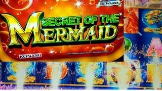 "*SECRET OF THE MERMAID* ""FREE SPINS MULTIPLIERS"" BY KONAMI"