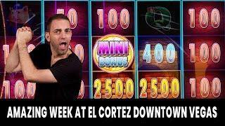 • AMAZING Week in Downtown Vegas • Huff N' Puff Action @ El Cortez