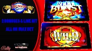 Bally - Dragon Spin : Line Hit and 2 Bonuses