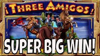 WE RIDE! Awesome Win on THREE AMIGOS!