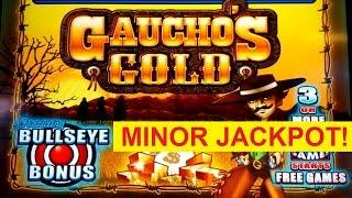 MINOR JACKPOT! Gaucho's Gold Slot - GREAT SESSION!