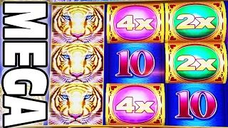 2x4x5x MEGA BIG WIN • LOTUS LAND MAX BET • I'M DUMB