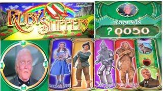 Wizard of Oz Ruby Slippers - Big Free Spin Bonus Wins!
