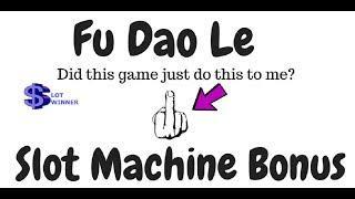 Fu Dao Le Slot Machine Bonus Win