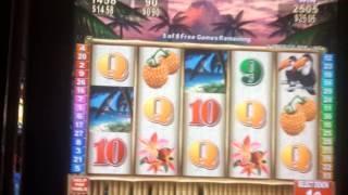 Wild Tropic (Konami) - Bonus Round