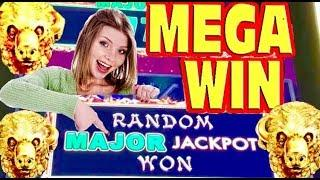 AWESOME!! MAX BET BUFFALO GOLD MEGA WIN - RANDOM JACKPOT on Dragon Link slot and MORE WINS!!