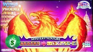 Wings of the Phoenix slot machine, Retrigger
