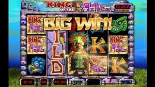 Barcrest King Of The Aztecs Game Play With Big Win Fruit Machine Video Slot
