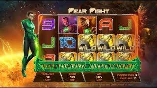 Green Lantern Online Slot from Playtech - Free Spins & Free Games Feature!