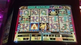 ** CLEOPATRA II BONUS COMPILATION **  MAX BETS!!  $3000+ Cashout!