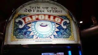 *RARE* Aristocrat Apollo Coffee company free Spin bonus round