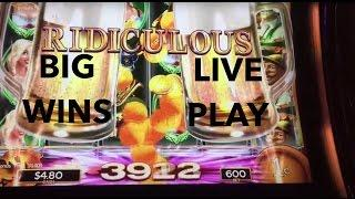 NEW SLOT ENCORE!!! LIVE PLAY on Heidi's Bier Haus Slot Machine with Bonuses and Big Wins!!!
