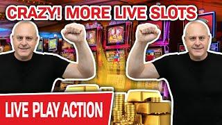 ⋆ Slots ⋆ CRAZY! MORE Live Slot Machine Action ⋆ Slots ⋆ The Night Is Still Young for HIGH-LIMIT SLO