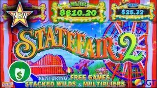 •️ New - State Fair 2 slot machine, bonus