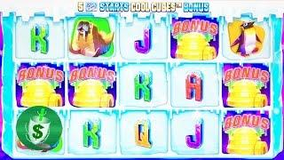 ++NEW Arctic Blast slot machine, 3 sessions
