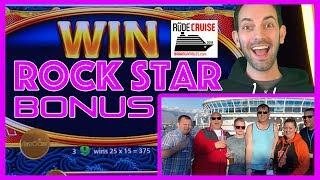 • Rock Star BONUS • Aboard the 'RUDIES' Princess!• • Brian Christopher RUDIES Slot Cruise