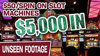 ⋆ Slots ⋆ $5,000 on HIGH-LIMIT Wild Wolf ⋆ Slots ⋆ CRAZY! I'm Doing $50/SPIN on SLOT MACHINES