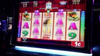 Outback Mystery slot machine bonus hit