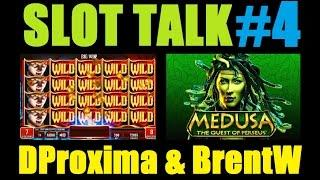 ★ NEW! SLOT TALK #4! Slot Machine Bonus Wins And Discussion W/ DProxima, BrentW & IT! February 2015