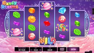 Candy Dreams Slot Features & Game Play - by Microgaming