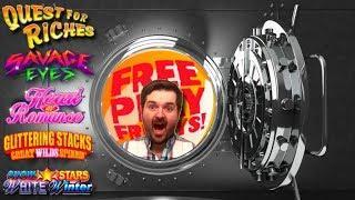 Free Play Friday! Let's Kiki W/ Konami! Glittering Stacks, Snow Stars, and a Bonuses Only Encore!