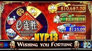 WMS: Winning Fortune Progressives - Wishing You Fortune Slot Bonus