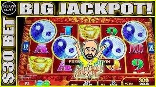 4 COIN TRIGGER PAYS BIG JACKPOT! MOST RETRIGGERS WE EVER GOT ON RED FORTUNE HIGH LIMIT SLOTS