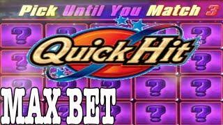 Max Bet Bonus on QUICK HITS •Slot Queen takes on Quick Hit  •