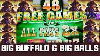BIG BUFFALO WINS - Slot Machine Bonuses on Buffalo, Fire Link, Lightning Link ++