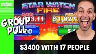 • $3400 With 17 People! • Group Pull @ Cosmo Las Vegas • BCSlots