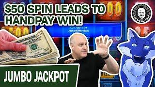 ★ Slots ★ $50 SPIN Leads to HANDPAY WIN! ★ Slots ★ Another SLOT JACKPOT on Huff N' Puff