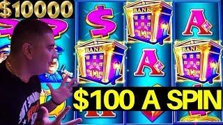 $100 A Spin High Limit PIGGY BANKIN Lock It Link Slot Machine HANDPAY JACKPOTS - Live Slot Play
