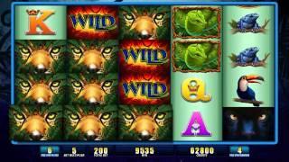 Jaguar Riches Free Spin Bonus, Slot Machines by WMS Gaming