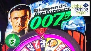 #G2E2017 Scientific Games - James Bond slot machines