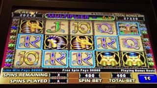 Cleopatra II Slot Machine -- Big Wins -- Max Bet