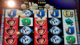 Moon Festival Slot Machine Bonus - 10 Free Games with Sticky Wilds - Nice Win