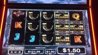 Moon maidens slot machine bonus free spins